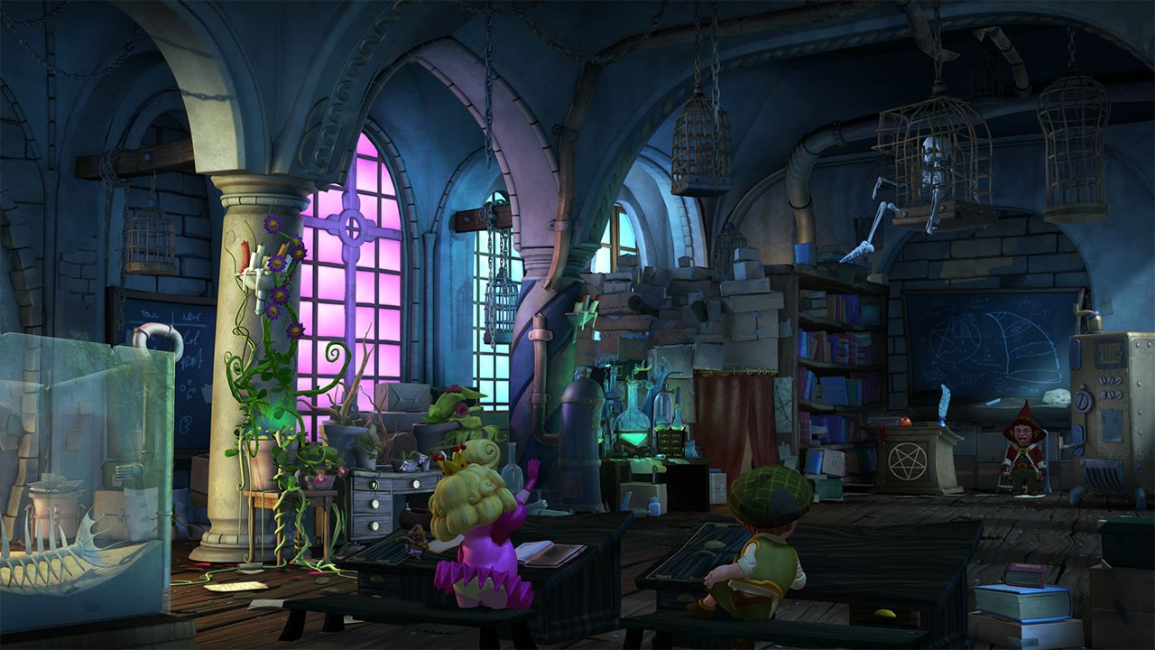 Screenshot from The Book of Unwritten Tales 2 (5/5)