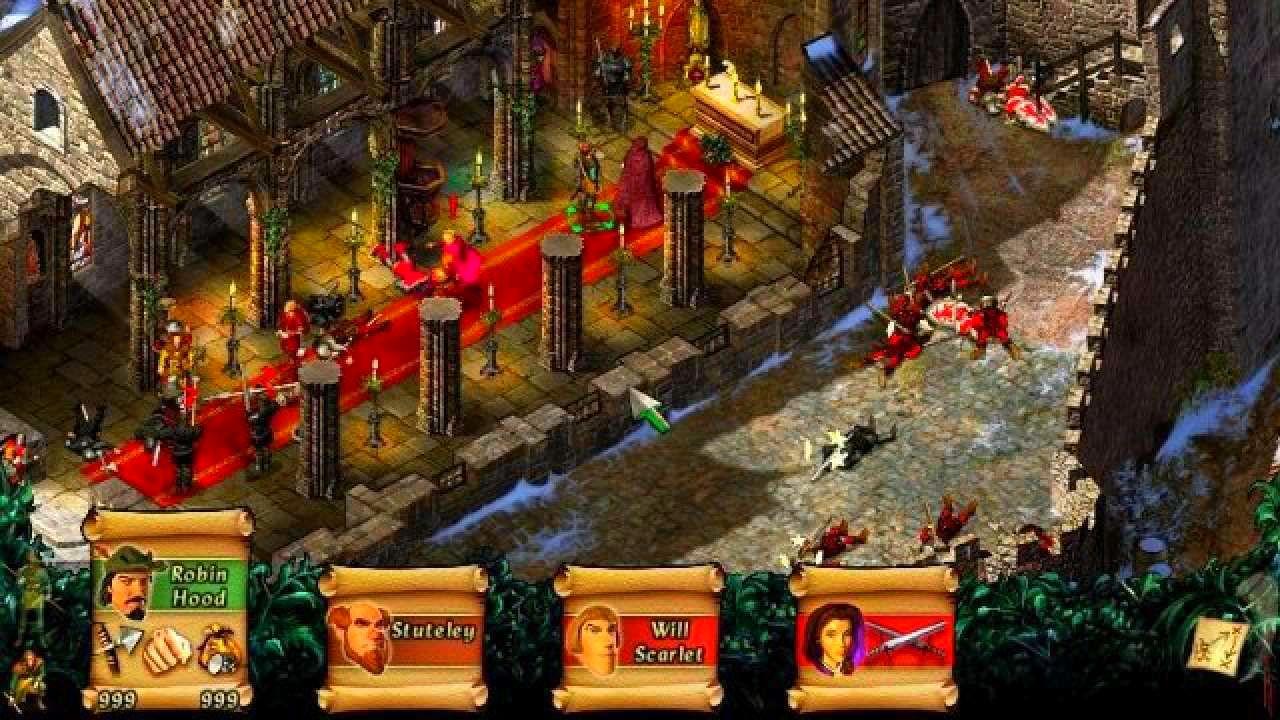 Screenshot from Robin Hood - The Legend of Sherwood (2/8)