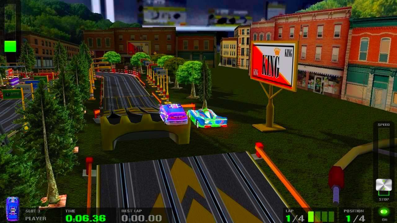Screenshot from HTR+ Slot Car Simulation (1/5)