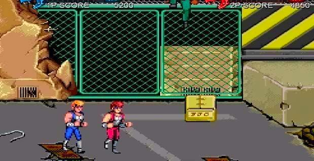 Screenshot from Double Dragon Trilogy (1/4)