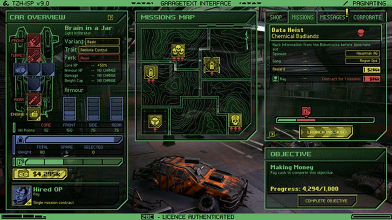 Screenshot from Dark Future: Blood Red States (8/8)