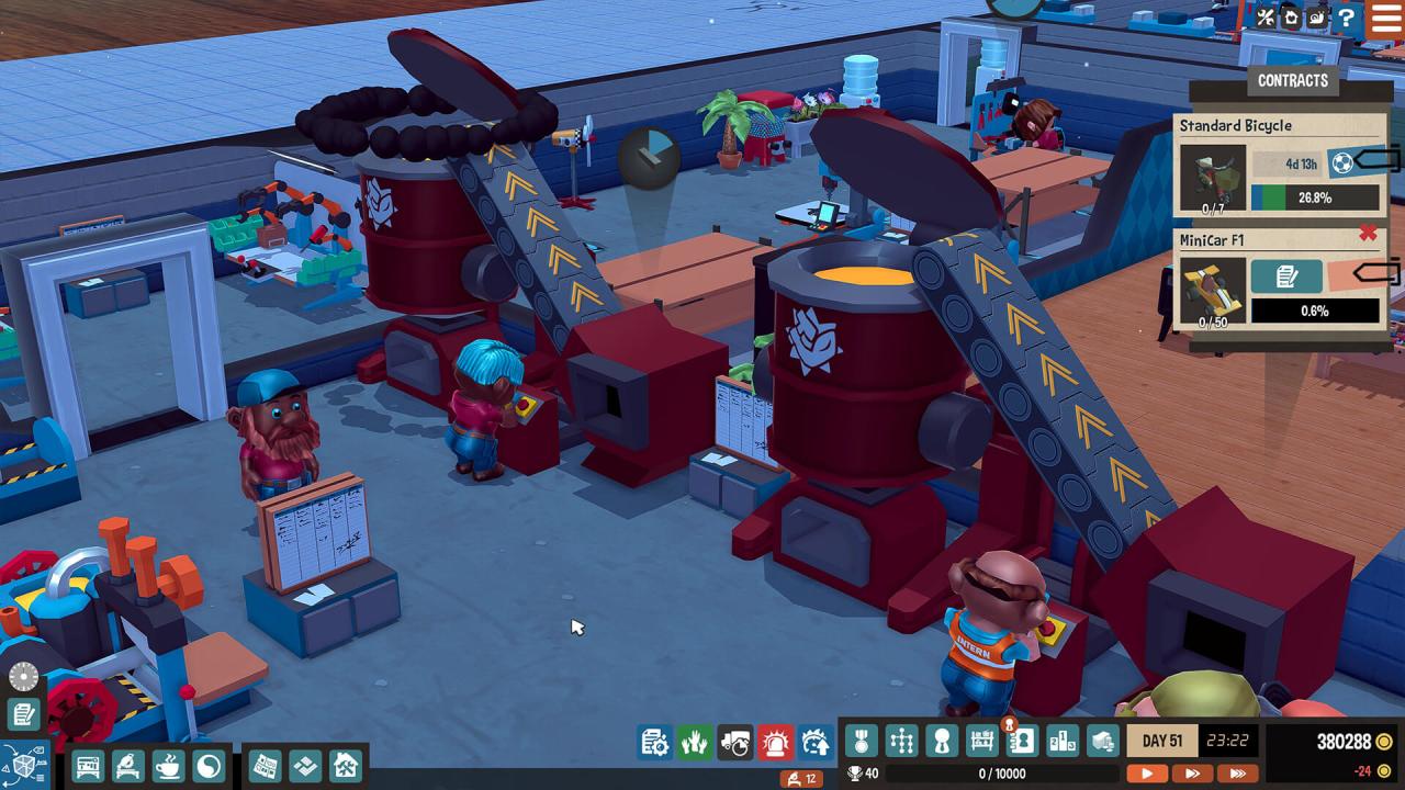 Screenshot from Little Big Workshop (5/5)