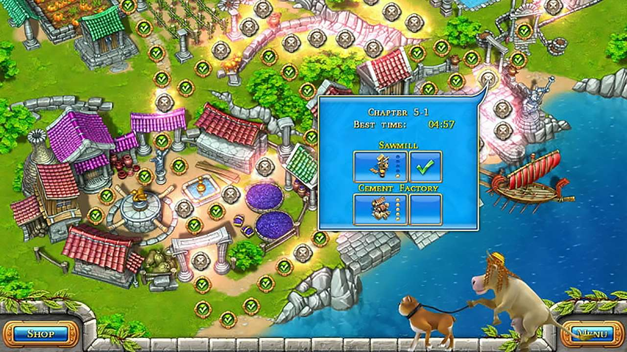 Screenshot from Farm Frenzy: Ancient Rome (5/7)
