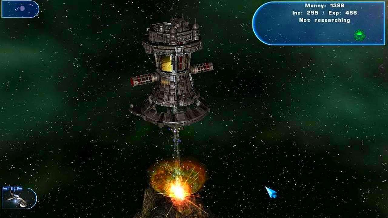 Screenshot from Haegemonia: The Solon Heritage (7/7)