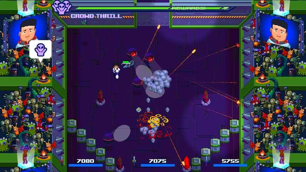 Screenshot from Satellite Rush (6/6)