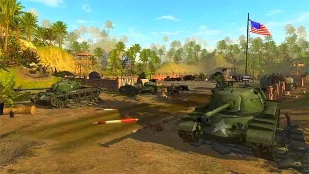 Screenshot from Men of War: Vietnam (1/3)