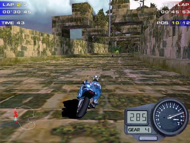 Screenshot from Moto Racer 2 (4/6)