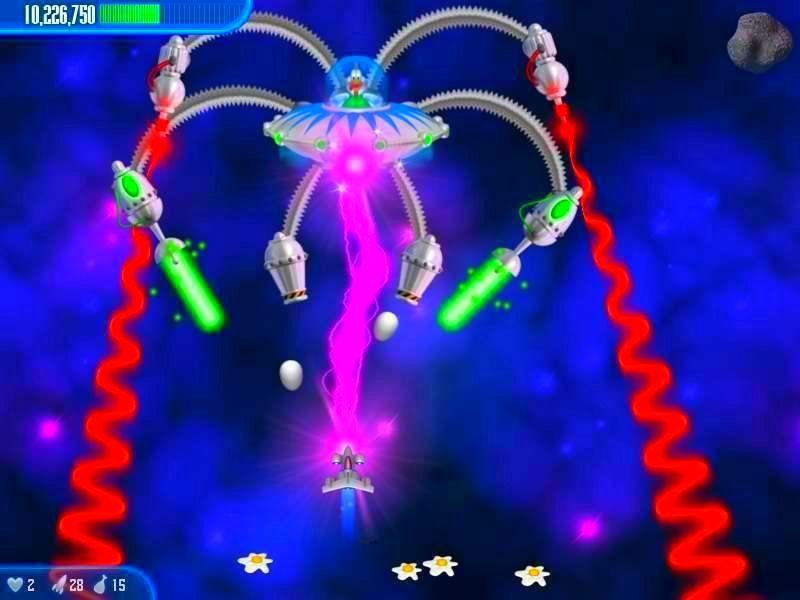 Screenshot from Chicken Invaders 3: Revenge of the Yolk (4/7)