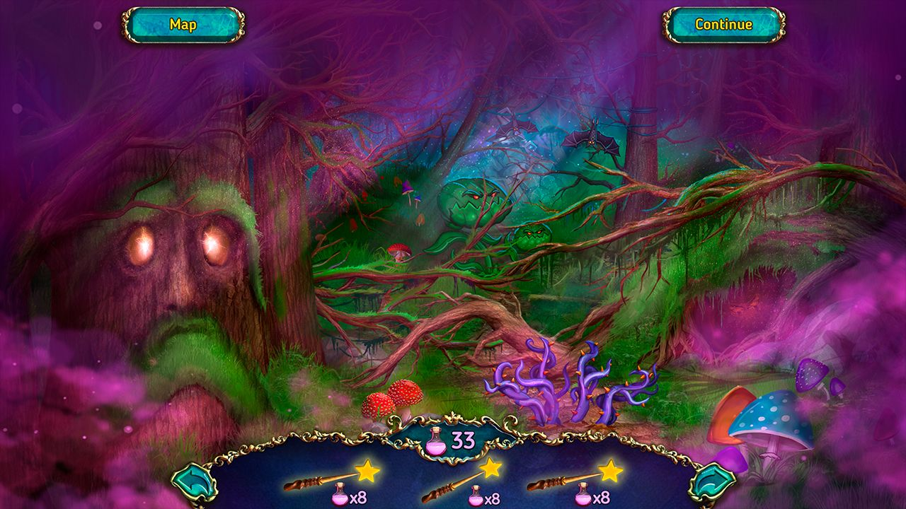 Screenshot from Dreamland Solitaire: Dark Prophecy Collector's Edition (1/8)