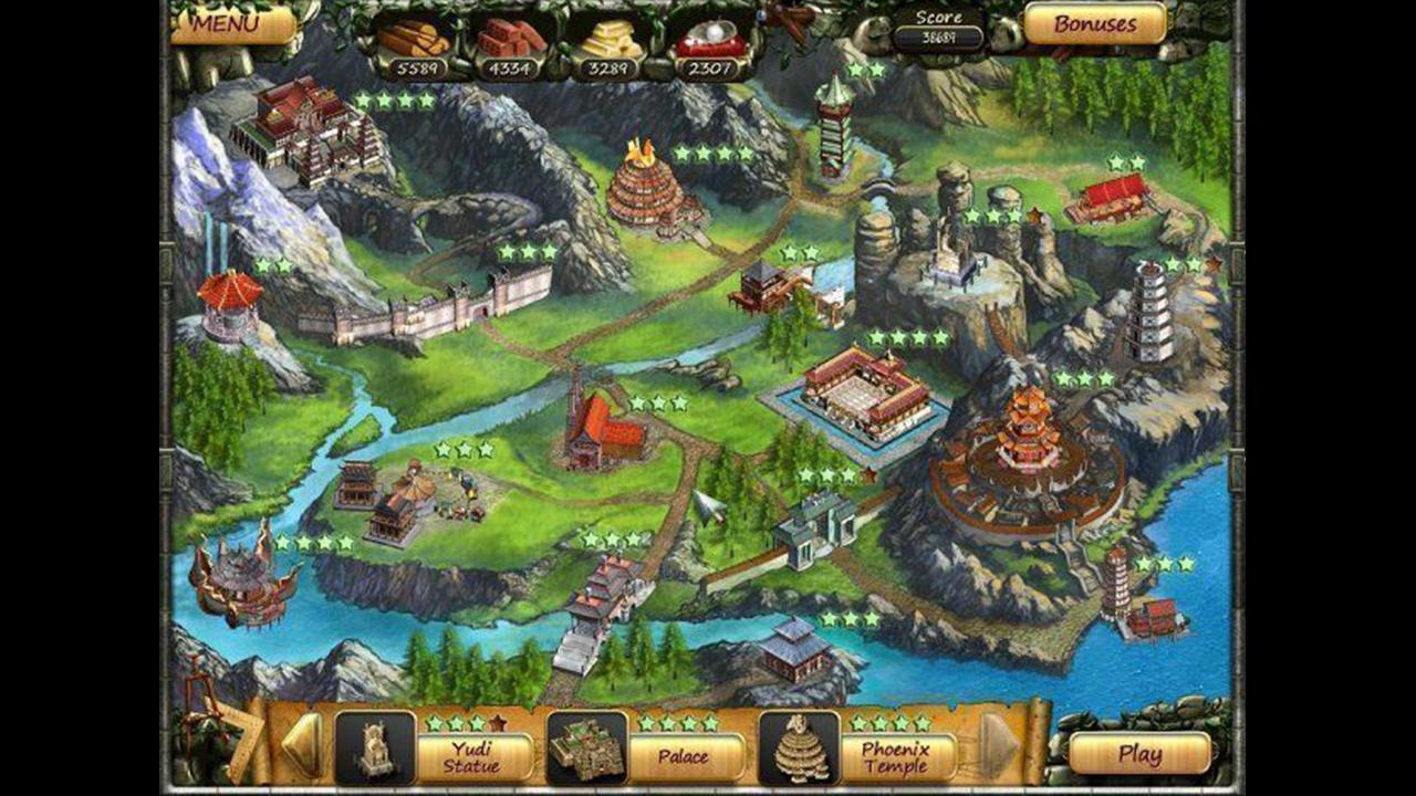 Screenshot from Age of Mahjong (2/5)