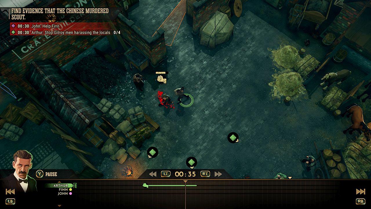 Screenshot from Peaky Blinders: Mastermind (7/7)