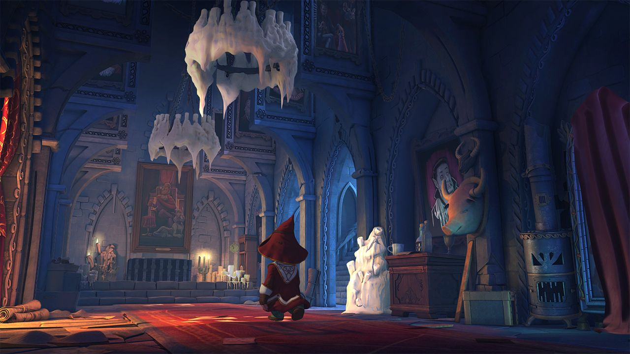 Screenshot from The Book of Unwritten Tales 2 (3/5)