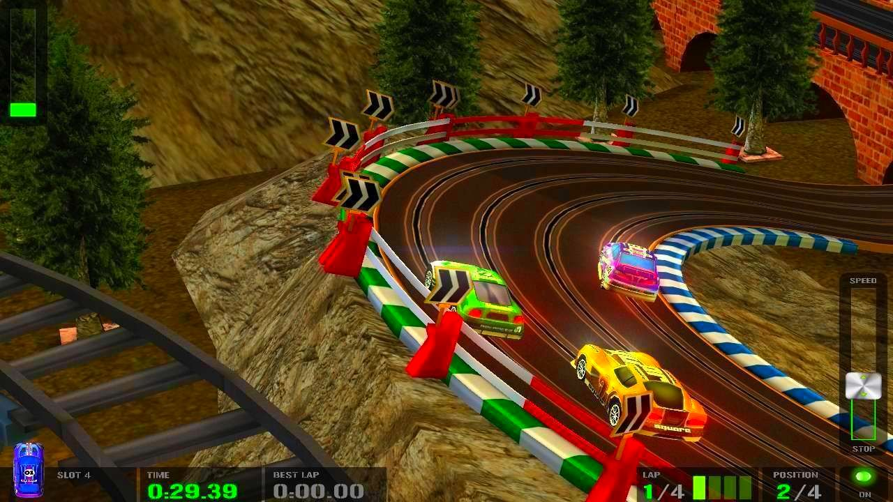 Screenshot from HTR+ Slot Car Simulation (4/5)