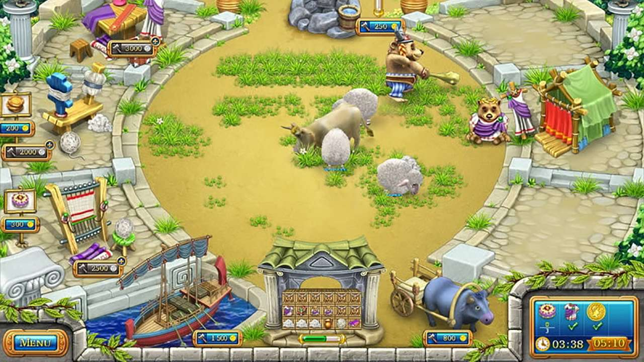 Screenshot from Farm Frenzy: Ancient Rome (1/7)