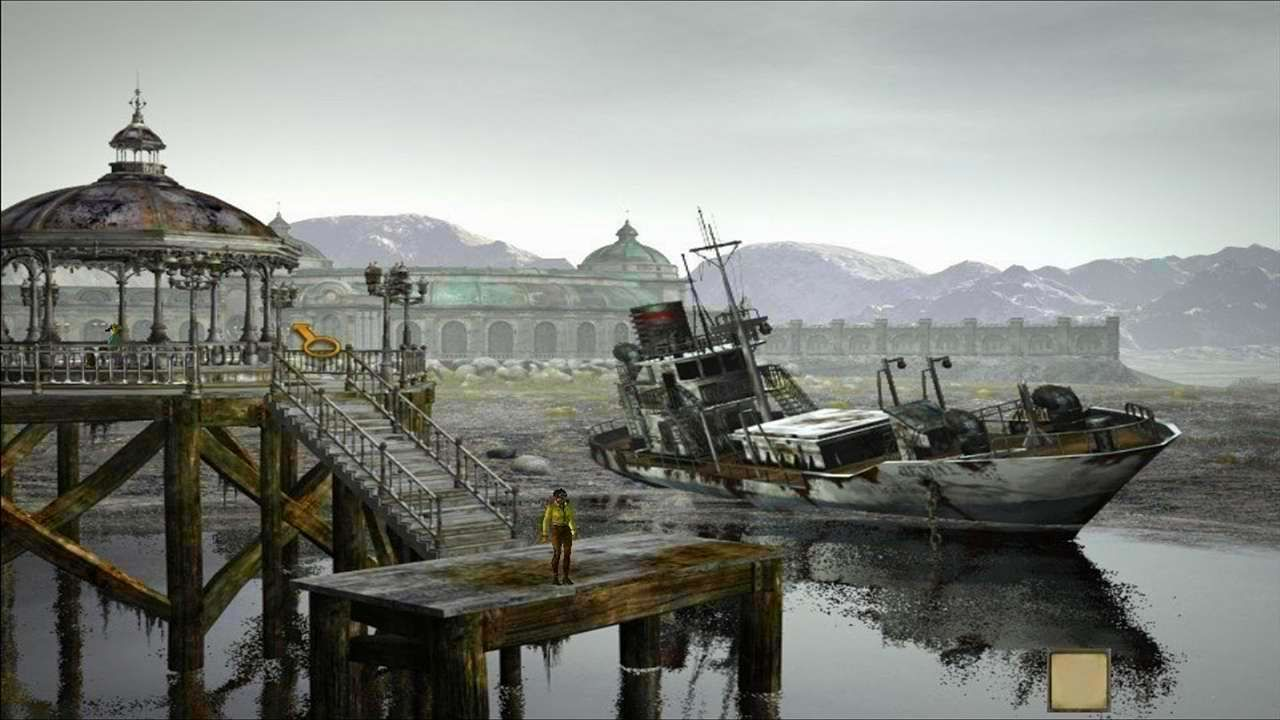 Screenshot from Syberia (8/8)
