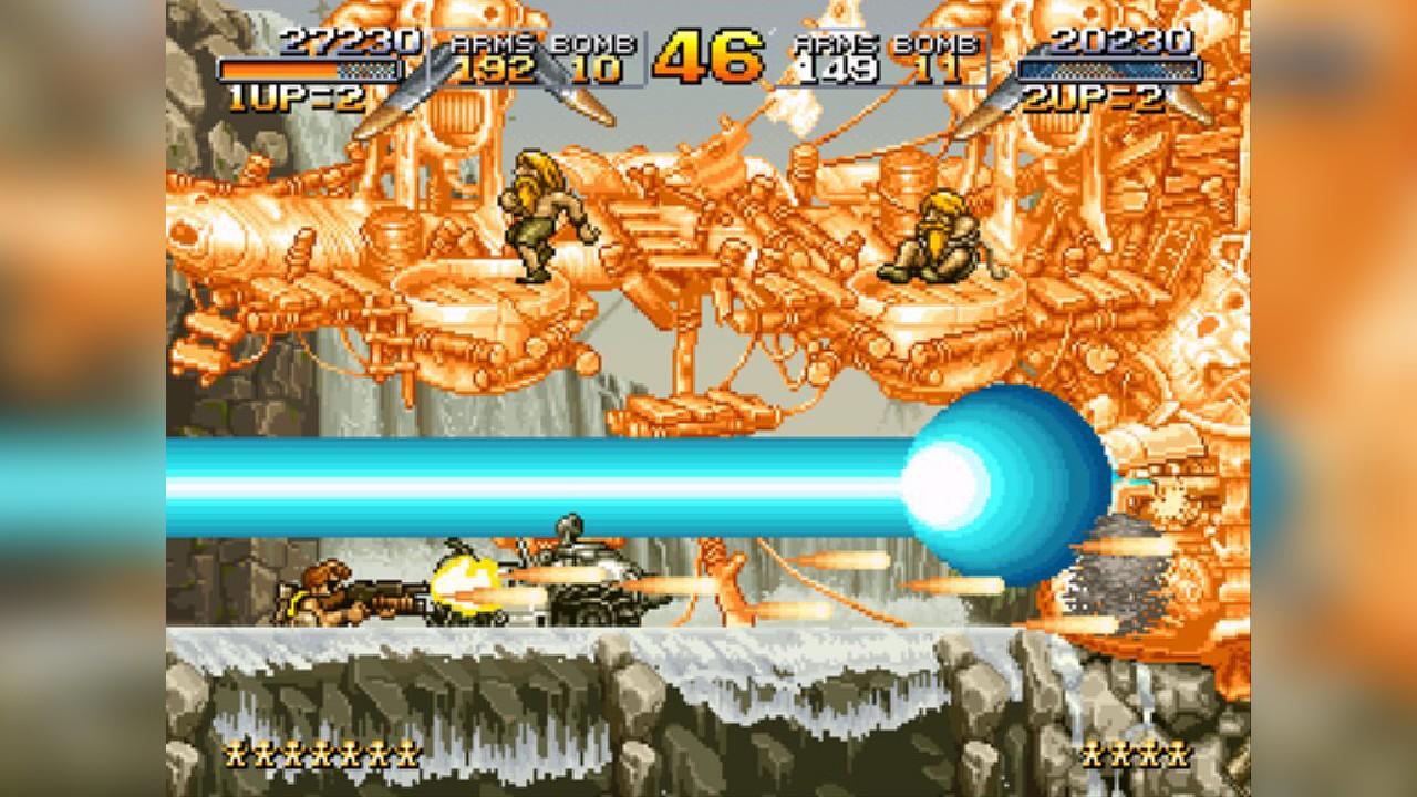 Screenshot from Metal Slug (1/9)