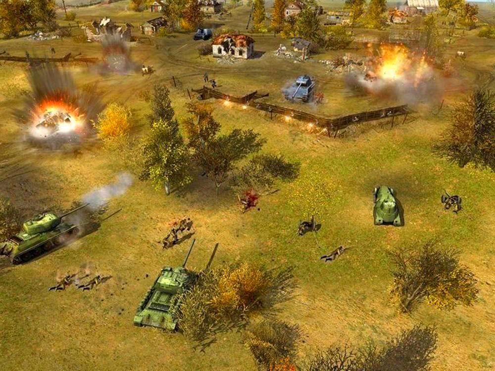 Screenshot from Men of War (3/3)