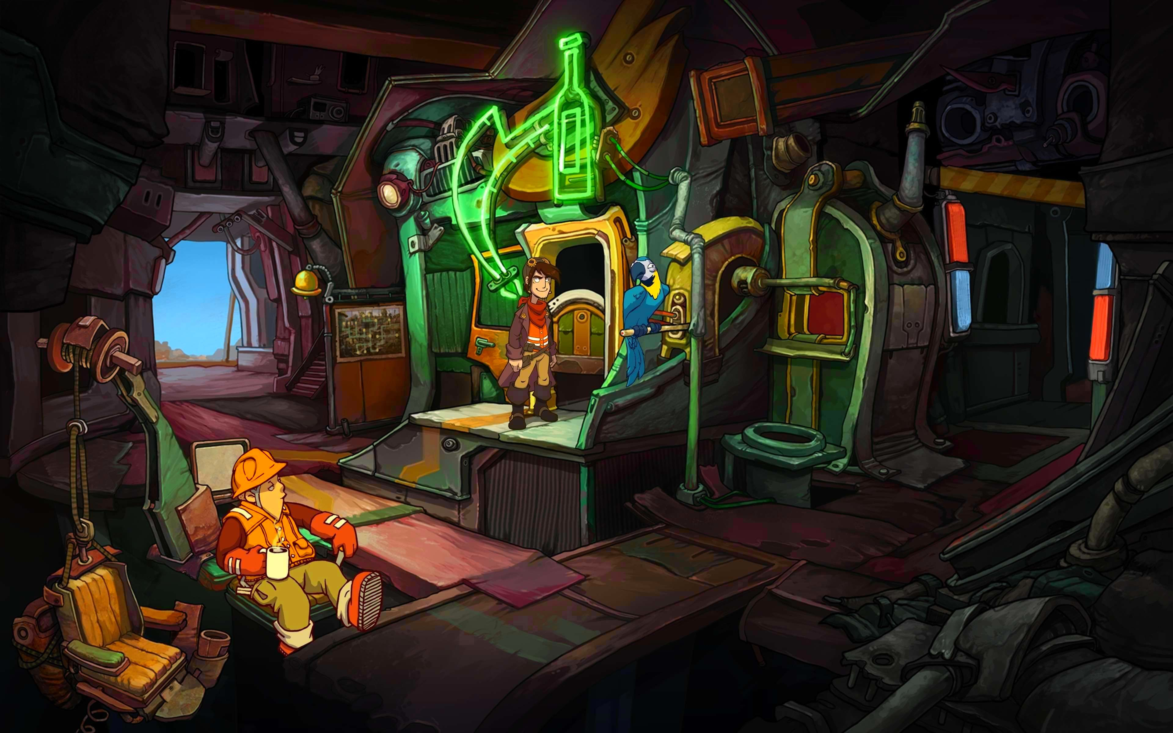 Screenshot from Deponia: The Complete Journey (8/9)