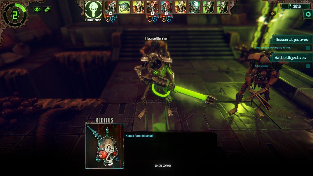 Screenshot from Warhammer 40,000: Mechanicus (5/9)
