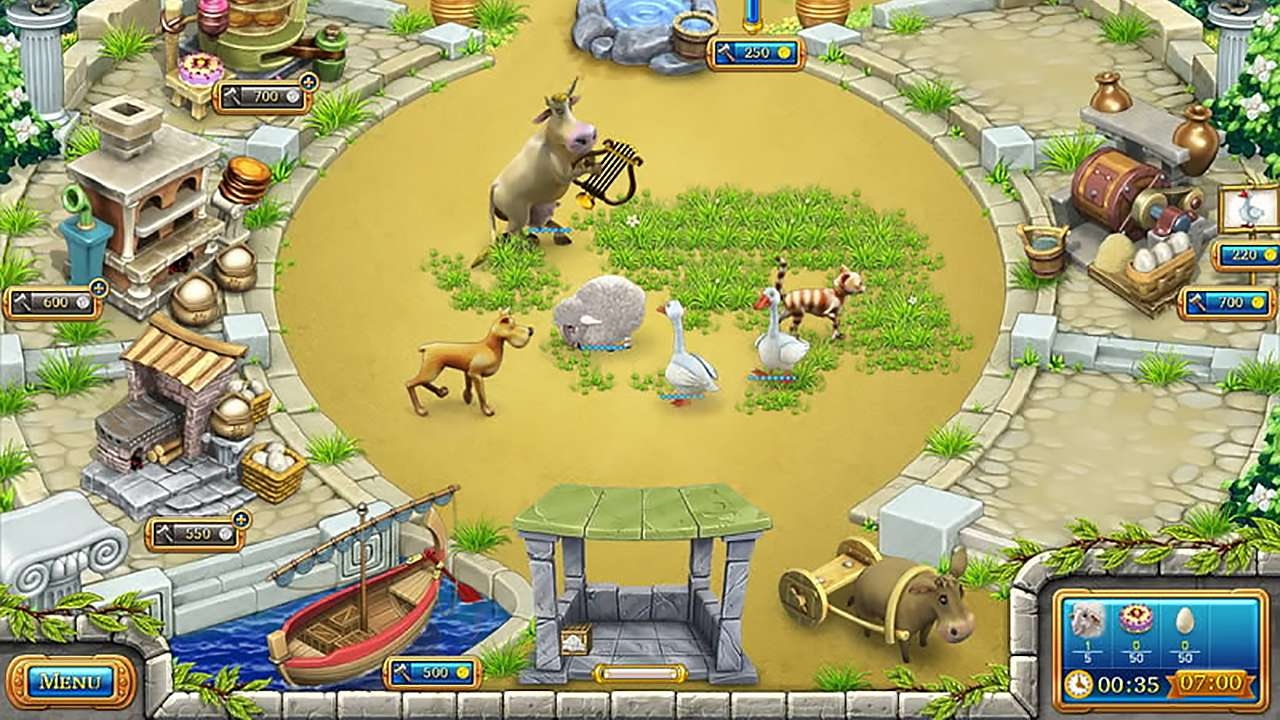 Screenshot from Farm Frenzy: Ancient Rome (4/7)