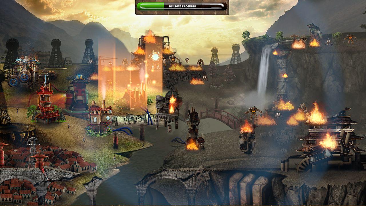 Screenshot from Duskless: The Clockwork Army (10/10)