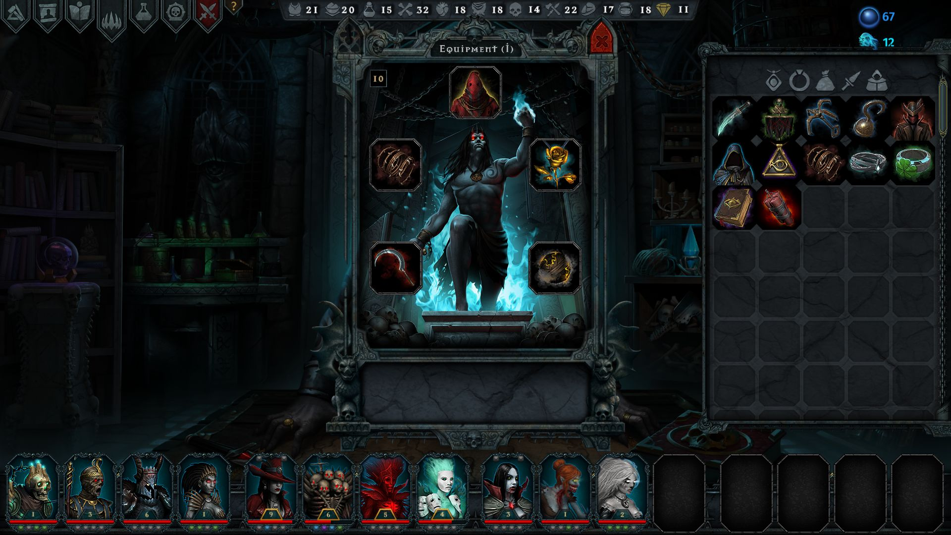 Screenshot from Iratus: Lord of the Dead (8/8)
